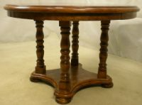 Antique Style Circular Centre / Extending Dining Table - SOLD